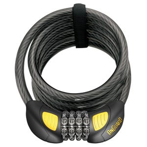 Candado OnGuard Doberman 8031GLO Cable C/Clave/Luz