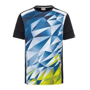 Polera Tenis Hombre Head Madley T-Shirt Bicolor