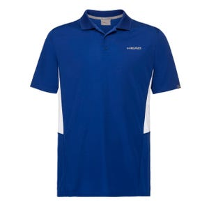 Polera Tenis Hombre Head Club Tech Polo Azul