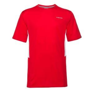 Polera Tenis Hombre Head Club Tech Roja