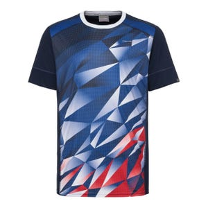 Polera Tenis Niño Head Madley T-Shirt B Bicolor