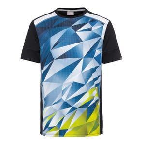 Polera Tenis Niño Head Madley T-Shirt B Amarillo