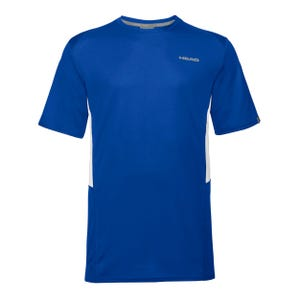 Polera Tenis Niño Head Club Tech B Azul
