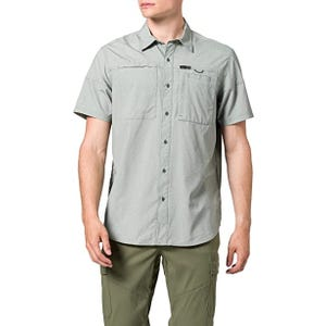Camisa Outdoor Hombre ATG by Wrangler SS Hike To Fish Verde
