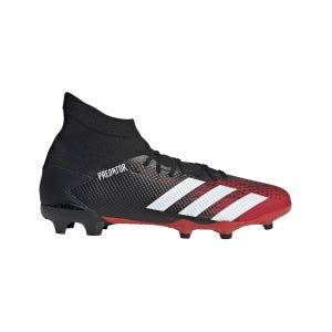 Zapatos Fútbol Hombre Adidas Predator 20.3 Terreno Firme Negro
