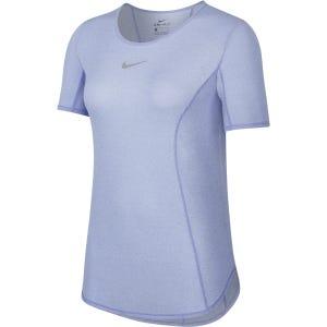 Polera Running Mujer Nike Celeste