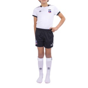 Conjunto Local Infantil Umbro Colo Colo 2019