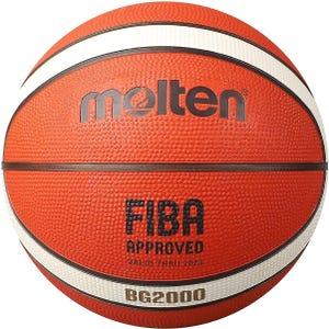 Balón Básquetbol Molten BG2000 N°3 Naranjo