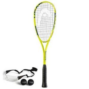 Raqueta Squash Unisex Head Spark Elite Pack Amarillo