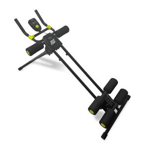 Ejercitador Abdominal Fitness Blu Fit Six Pack Extreme Negro