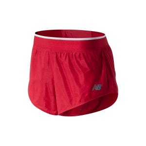 Short Running Mujer New Balance Q Speed Track Rojo