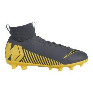 Zapato Fútbol Niño Nike Jr Superfly 6 Club Gris/Amarillo