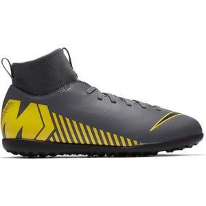 Zapato Fútbol Niño Nike Jr Superfly X 6 Club Gris/Amarillo