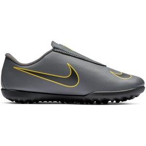 Zapato Fútbol Niño Nike Jr Vapor 12 Club Ps Gris/Amarillo