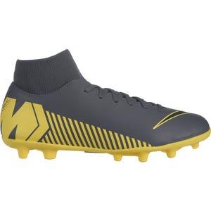 Zapato Fútbol Hombre Nike Superfly 6 Club Gris/Amarillo