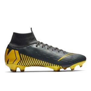 Zapatos Fútbol Hombre Nike Nike Superfly 6 Pro FG Gris Oscuro/Amarillo