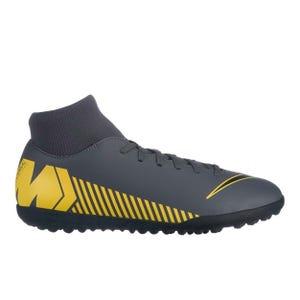 Zapatillas Futbolito Hombre Nike Superfly 6 Club TF Gris Oscuro