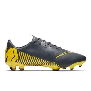 Zapatos Fútbol Hombre Nike Vapor 12 Pro Gris Oscuro/Amarillo