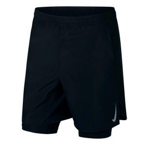Short Running Hombre Nike Challenger Negro