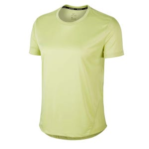 Polera Running Mujer Nike Miler Amarillo
