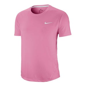 Polera Running Mujer Nike Miler Rosada