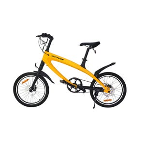 Bicicleta Eléctrica Urbana Altitude Lehe Amarilla