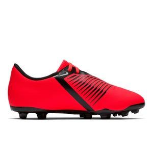 Zapatos Fútbol Niño Nike Venom Club FG Rojo/Plata