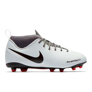 Zapatos Fútbol Niño Nike Phantom Vision Club Dynamic Fit MG Blanco