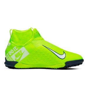 Zapatillas Futbolito Niño Nike Jr. Phantom Vision Academy Dynamic Fit TF Limón/Blanca