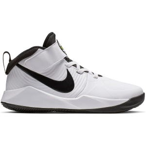Zapatilla Basquetbol Niño Nike Team Hustle D 9 Ps Blanca