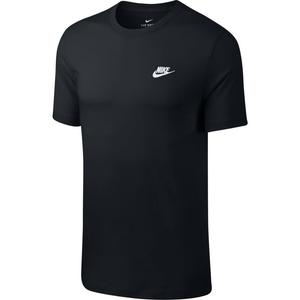 Polera Lifestyle Hombre Nike Sportswear Club Negro