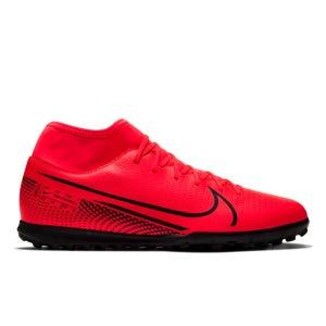 Zapatillas Babyfútbol Hombre Nike Mercurial Superfly 7 Club TF Roja