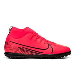 Zapatillas Babyfútbol Niño Nike Mercurial Superfly 7 Club TF Roja