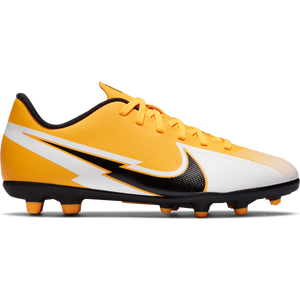 Zapatos Fútbol Niño Nike Jr. Mercurial Vapor 13 Club MG Amarillo