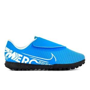 Zapatillas Futbolito Niño Nike Mercurial Vapor 13 Club Azul