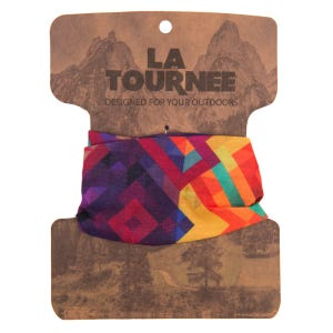 Bandana Multifuncional Outdoor La Tournee Rombos Multicolor