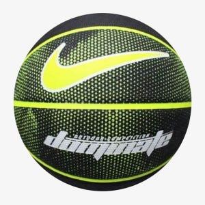 Balón de Básquebol Nike Dominate 8P N°7 Negro/Amarillo