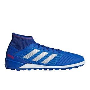 Zapatillas Futbolito Hombre Adidas Predator 19.3 TF Azul/Blanca