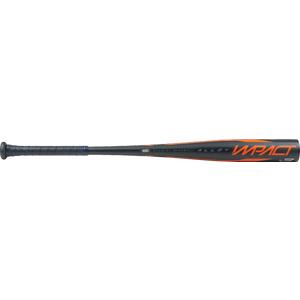 Bate Béisbol Rawlings Aluminium 2 5/8'' BBCOR CERTIFIED MODELO IMPACT 32'' Negro