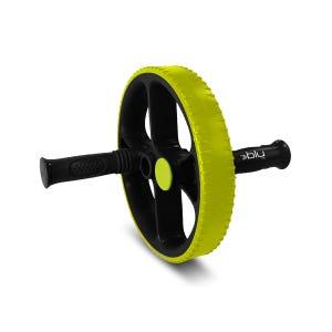 Rueda De Ejercicios Abdominales Fitness Blu Fit Plus Negro/Verde