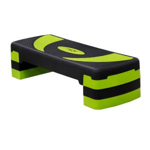 Step para Ejercicios Aeróbicos Fitness Blu Fit Negro/Verde