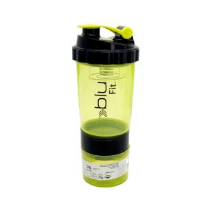 Botella Mixer Blu Fit Negro/Verde
