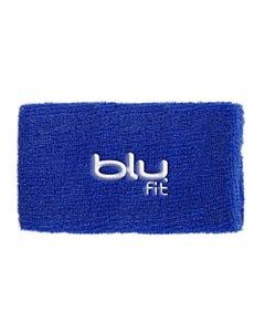 Muñequera Para Sudor Azul Blu Fit