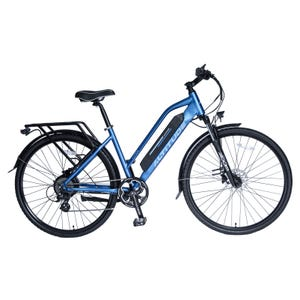 Bicicleta Eléctrica Urbana Altitude Cuyen Azul Matte