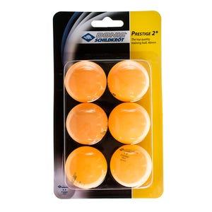 Pelota de Ping Pong Prestige 2 Naranja Schildkrot