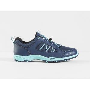 Zapatos Ciclismo MTB Mujer Bontrager SSR Azul