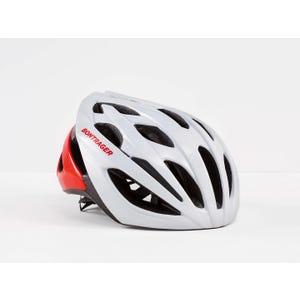 Casco de ciclismo Bontrager Starvos Blanco/Rojo