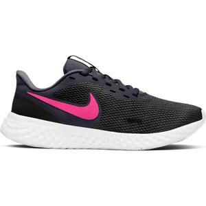 Zapatillas Running Mujer Nike Revolution 5 Negra/Rosada
