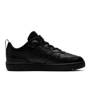 Zapatillas Urbanas Niño Nike Court Borough Negra