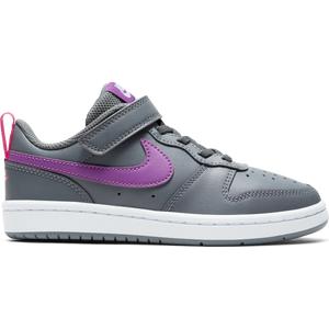 Zapatillas Urbanas Niño Nike Court Borough Low 2 Gris Oscuro